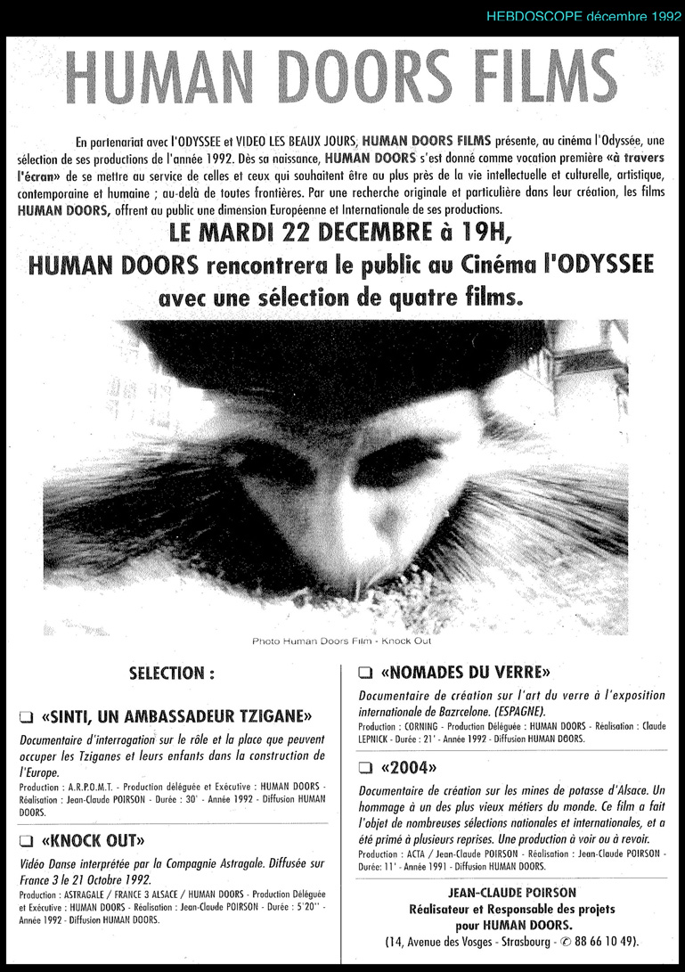 presse human doors productions film